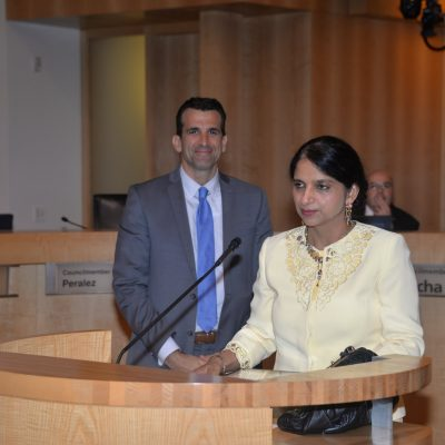 Gurdeep Chawla's Commendation from City of San Jose.