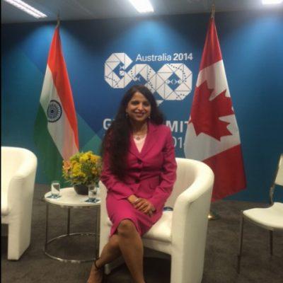 Gurdeep Chawla's interpretation services at G20 Summit