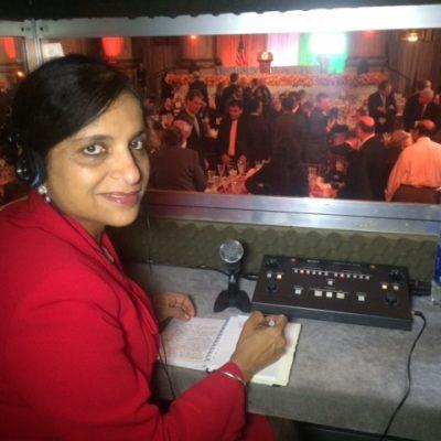 Gurdeep Chawla's interpretation services at US India Business Council.