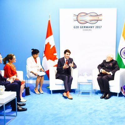 Gurdeep Chawla's interpretation services at G20 Summit.