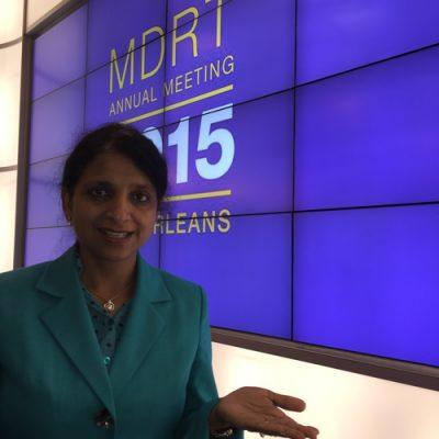 Gurdeep Chawla's interpretation services at MDRT